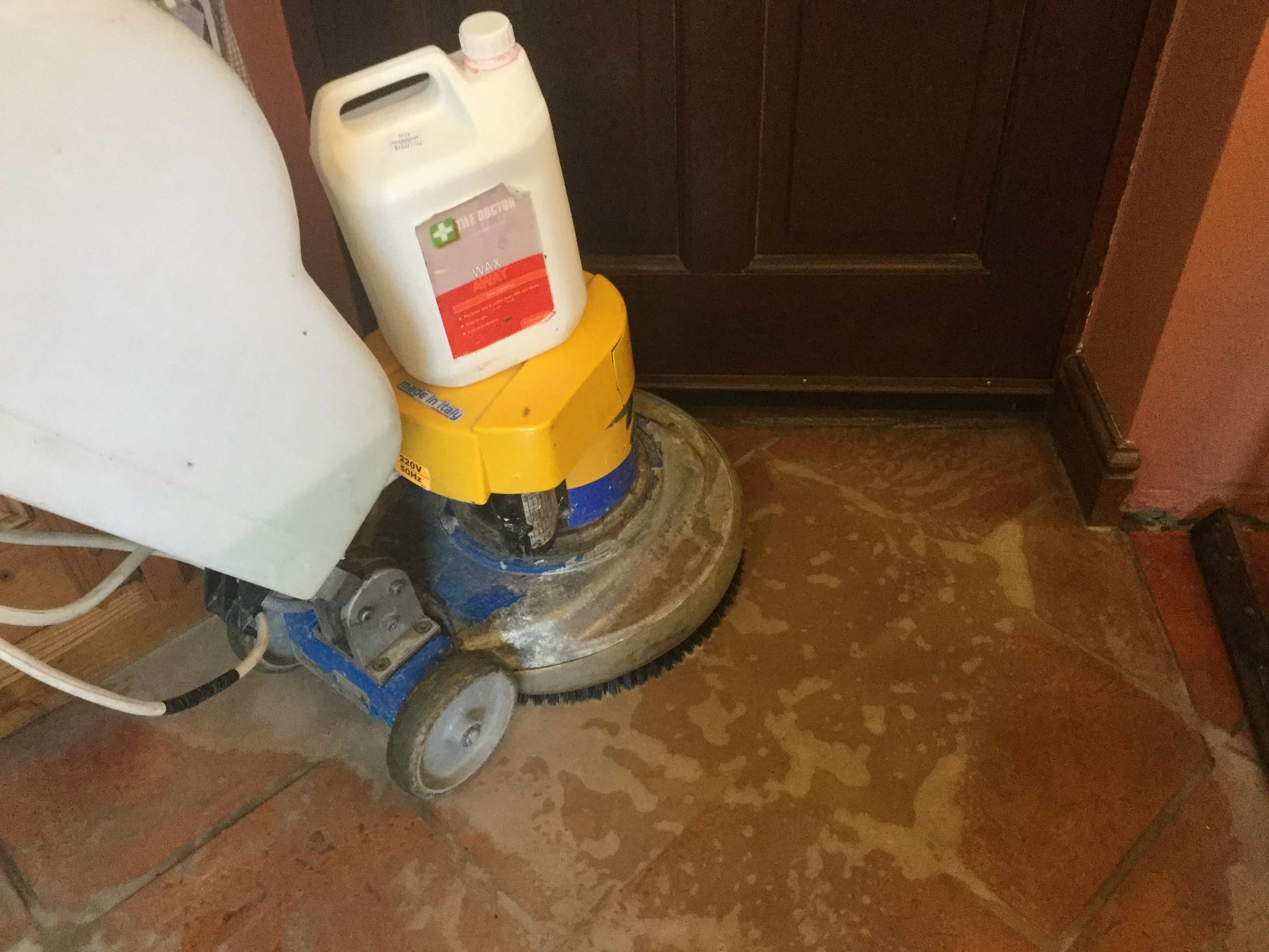 Deep Cleaning Terracotta Tile